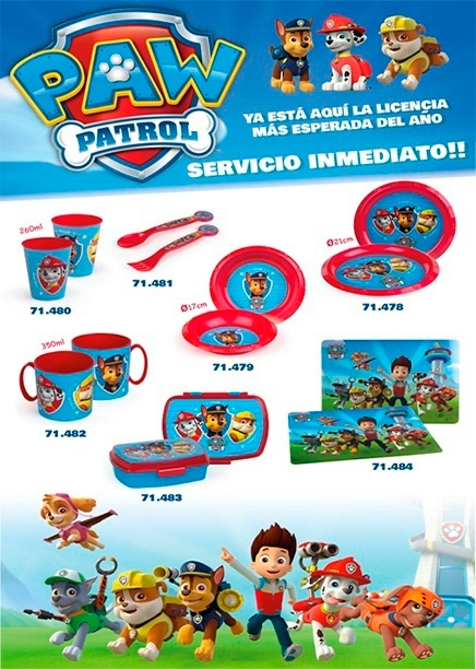 COLORBABY PAW PATROL