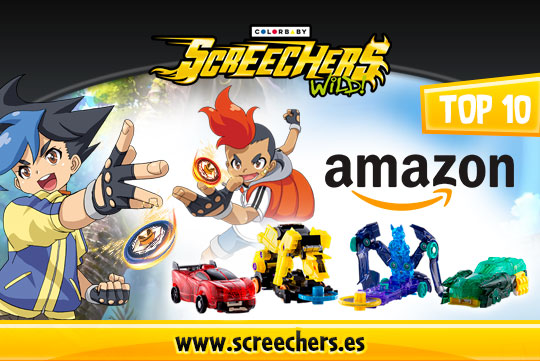 Screechers Wild en top 10 de Amazon