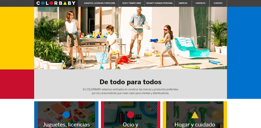COLORBABY Web
