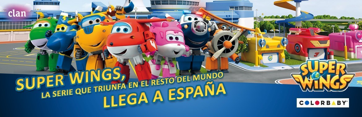 SUPERWINGS COLORBABY