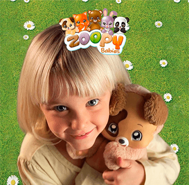 SPOT TV ZOOPY BABIES COLORBABY