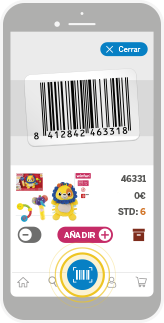 Escanea tus productos