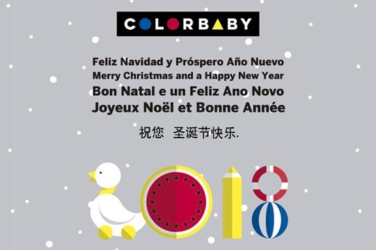 COLORBABY les desea Feliz Navidad y Próspero Año Nuevo.