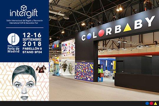COLORBABY presenta sus novedades en las colecciones de juguete, licencias y hogar en Intergift 2018.
