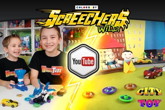 Los Screechers Wild de COLORBABY arrasan en YouTube