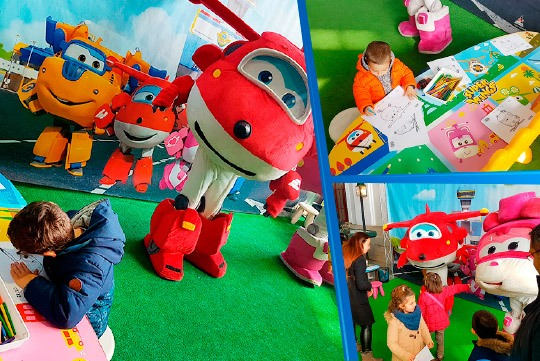 Los Super Wings viajan al mayor evento de colegios del país
