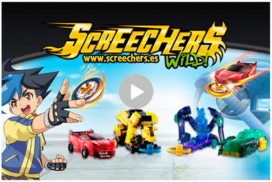 Screechers Wild  COLORBABY