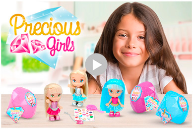 Precious Girls de COLORBABY