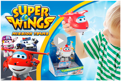 SPOT TV SUPER WINGS COLORBABY