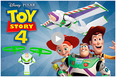 Toy Story 4 COLORBABY