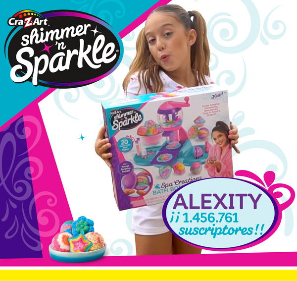 Live Love Alexia's World Alexity Crazart Shimmer'n Sparkle