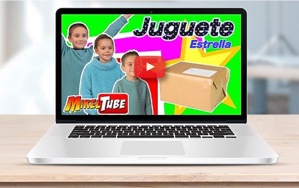 MikelTube visita Juguete estrella 2018