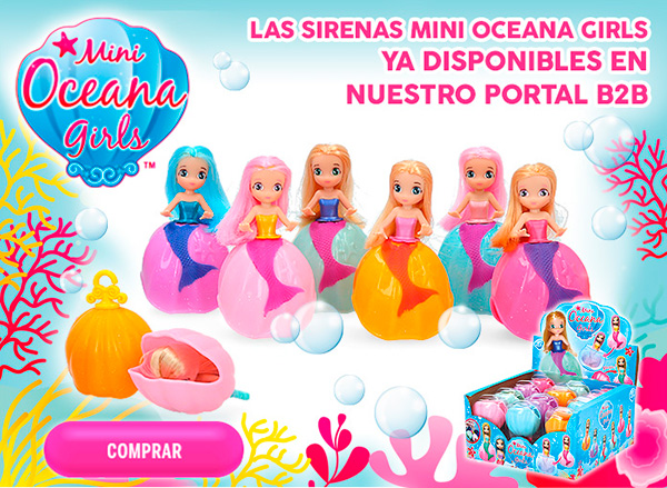 Compra tus mini oceana girls